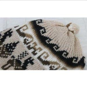 1b4b5339e8a Accessories - Peruvian Peru Chullo Beanie Hat Reversible